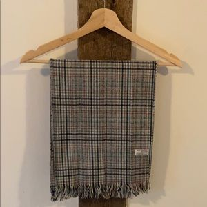 Vintage Plaid Scarf